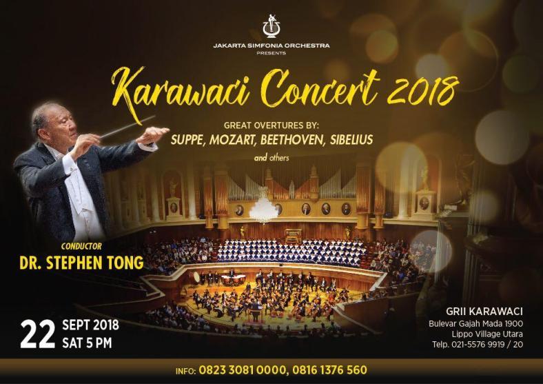 Karawaci concert 2018
