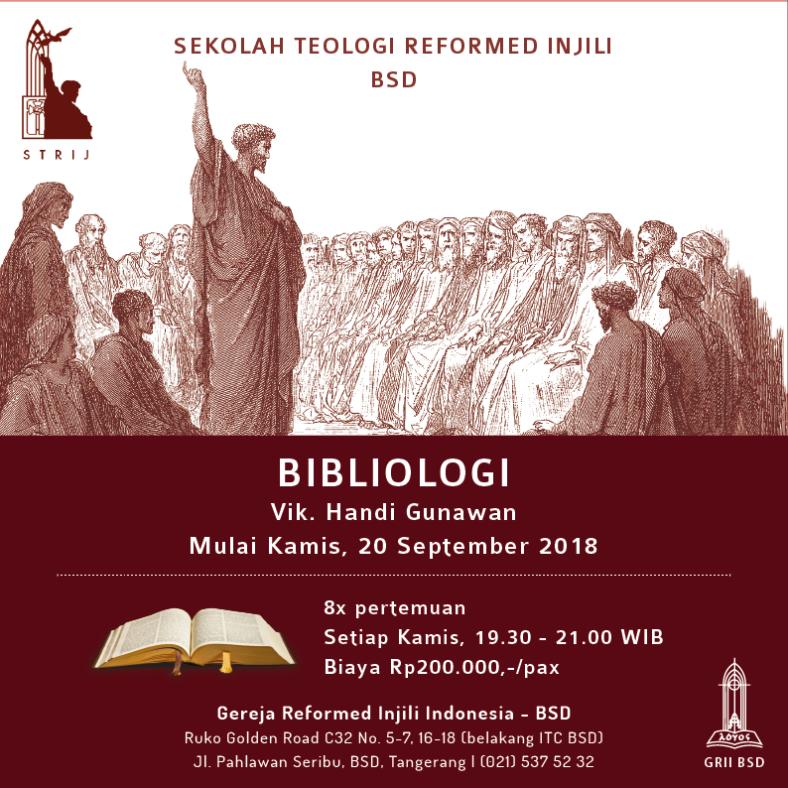STRI BSD - Bibliologi
