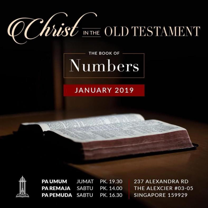 christ in the old testament - numbers
