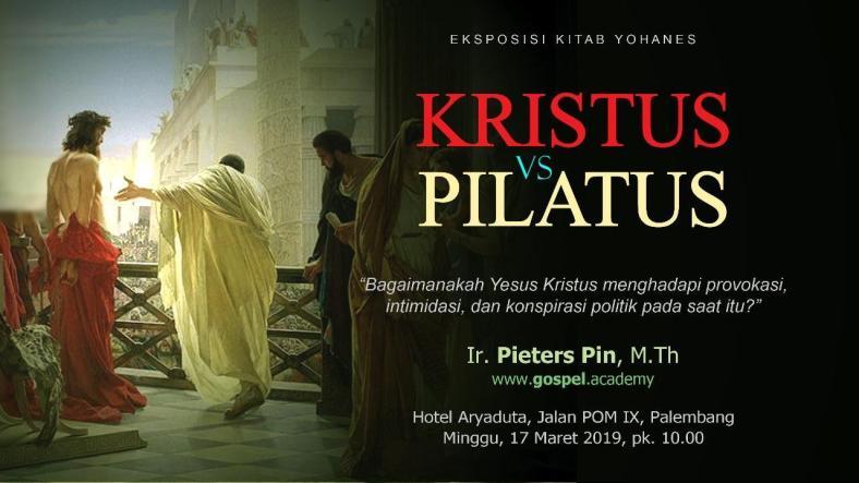 Kristus vs Pilatus